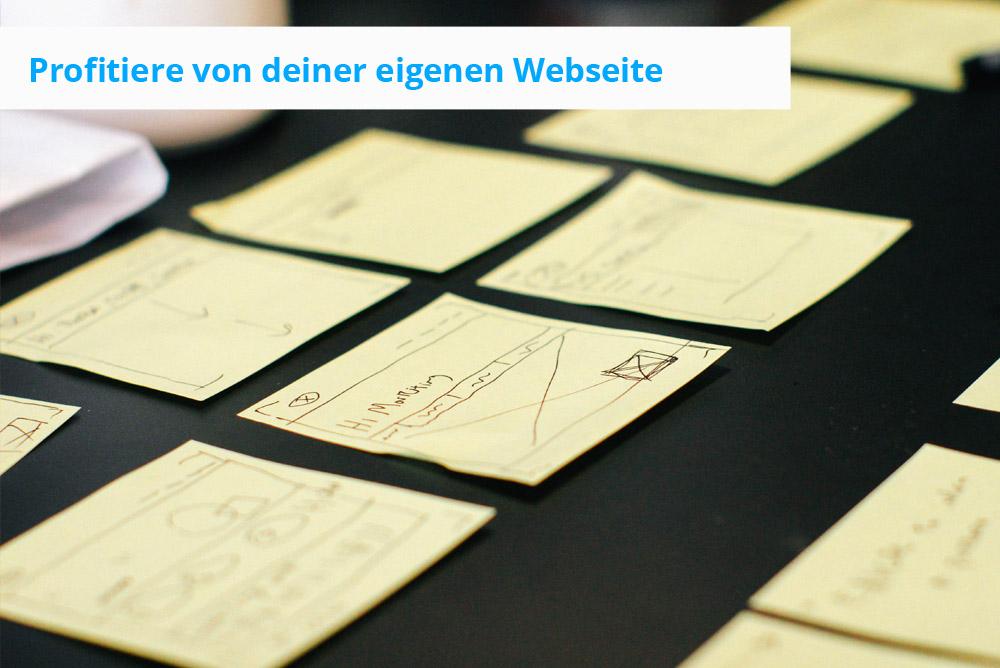 Existenzgründer profitieren von der eigenen Webseite